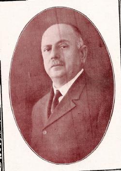 O coronel, Victor Brito Bastos, em 1927