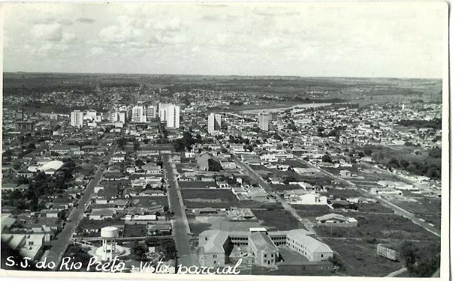 vista aérea da Vila Redentora, em 1964