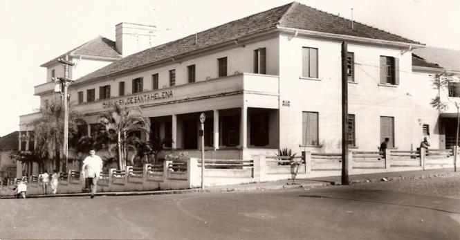 Casa de Saúde Santa Helena, em 1963